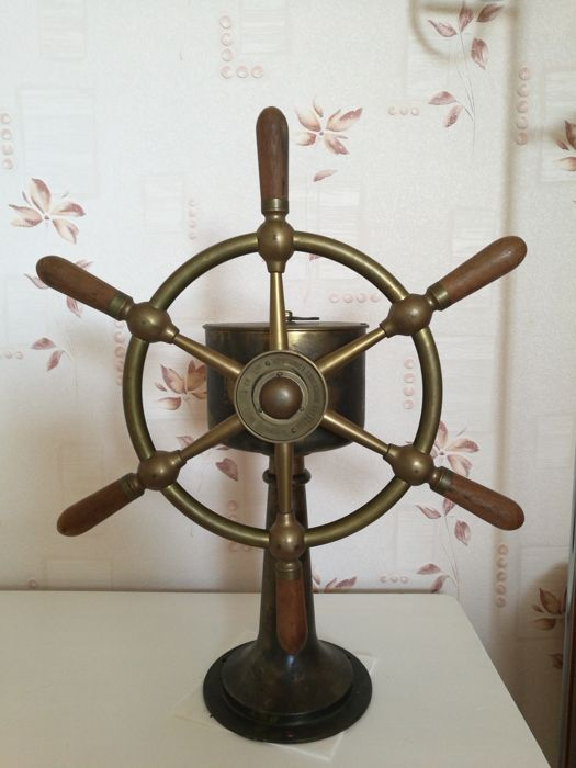 Ships steering station - first half 20th century
