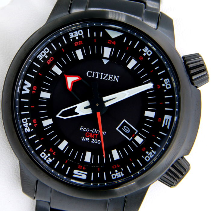 Citizen - Promaster Eco Drive Dual Time GMT 200M WR - New - Heren - 2011-heden
