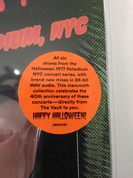 Frank Zappa - Halloween 77 (Costume Boxed Set Limited