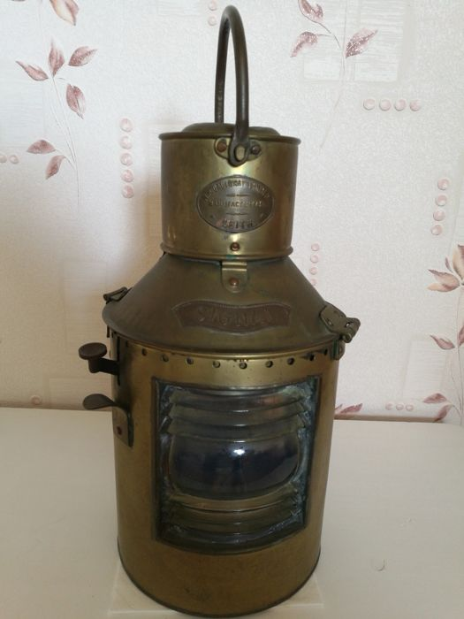Ship's lamp MP Galloway Limited Leith