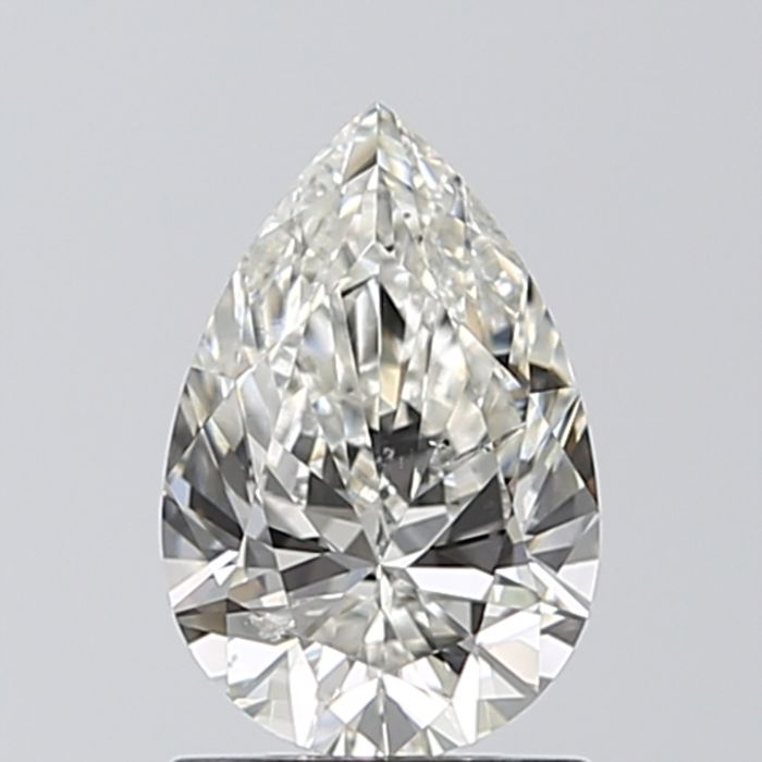 Pear Brilliant Diamond 1.02 ct total J SI1 IGI  - Low Reserve Price - #439