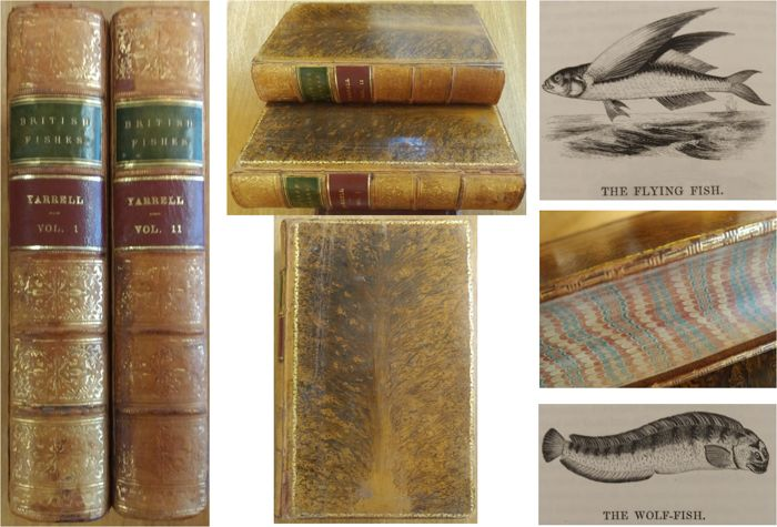 William Yarrell - A History of British Fishes  - 1859