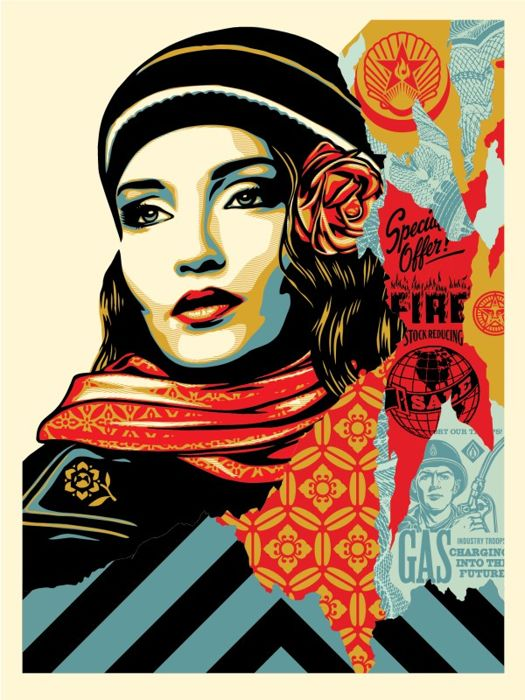 Shepard Fairey (OBEY) - Obey Fire Sale