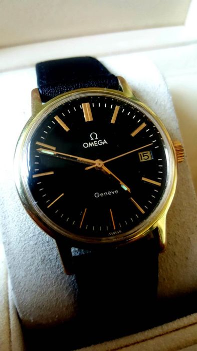 Omega 'Genève' - 'NO RESERVE PRICE' - men's watch - 1970s