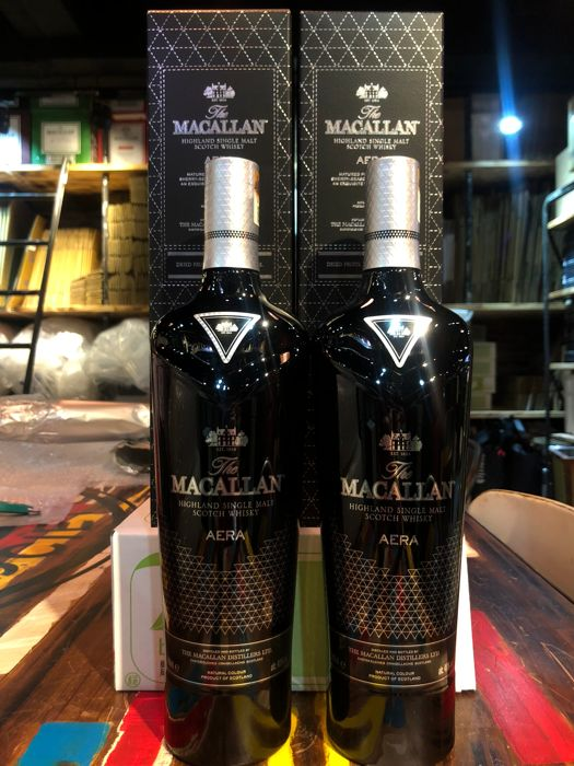 Macallan Aera Limited Edition (Two bottles set)