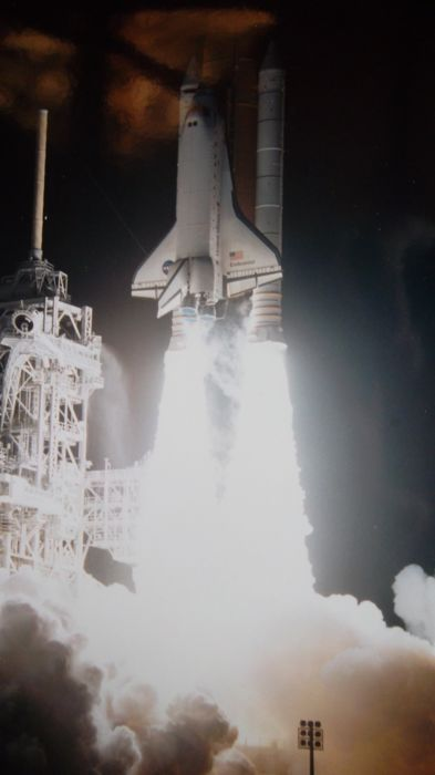 STS-88: Begin bouw ISS, drie NASA foto's - Kodak Photo Paper