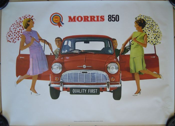 Anonymous - Morris 850 Bmc the British motor - Jaren 1960