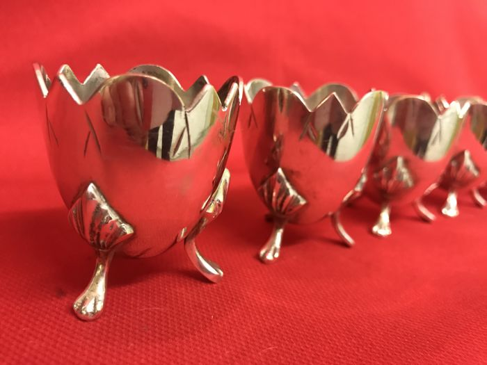 Silver plated egg cup - Silverplate