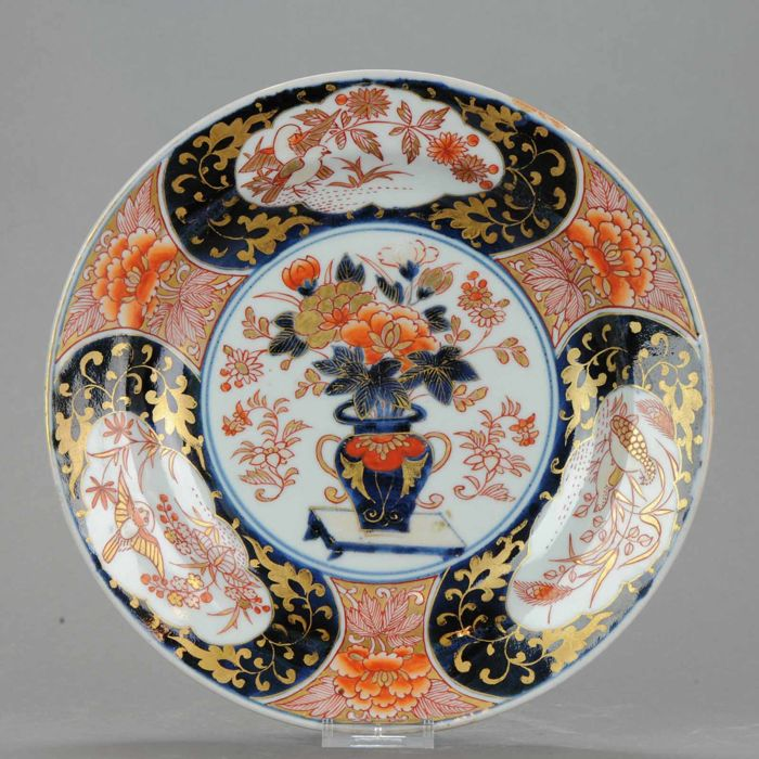 Imari plate, porcelain - Japan - 18th century