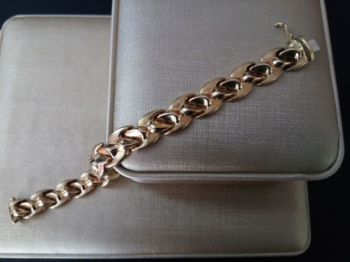 Gold bracelet 18 kt  New never used - 24.95 grams