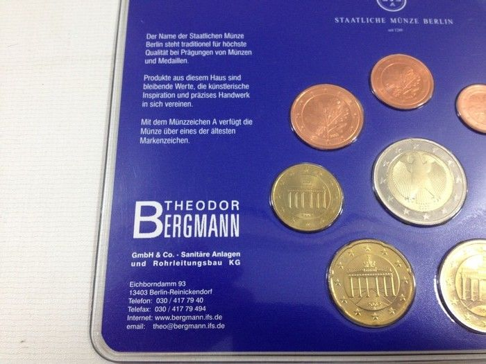 Europe 388 Euro Coin Sets From Austria Belgium Germany And