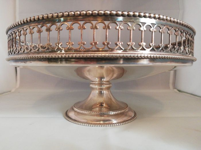 Centerpiece - .800 silver - Italy - mid 20th century