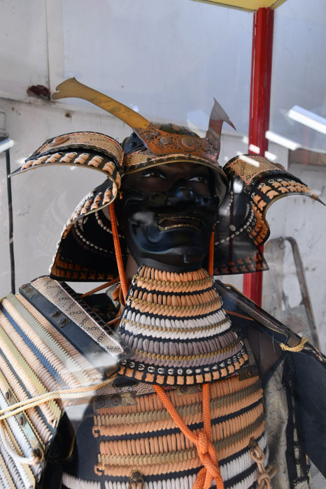Japanese warrior, original replica - Japan - second half of the 20th century