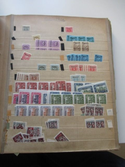 World 1850/1930 - Stock of stamps Volume 1