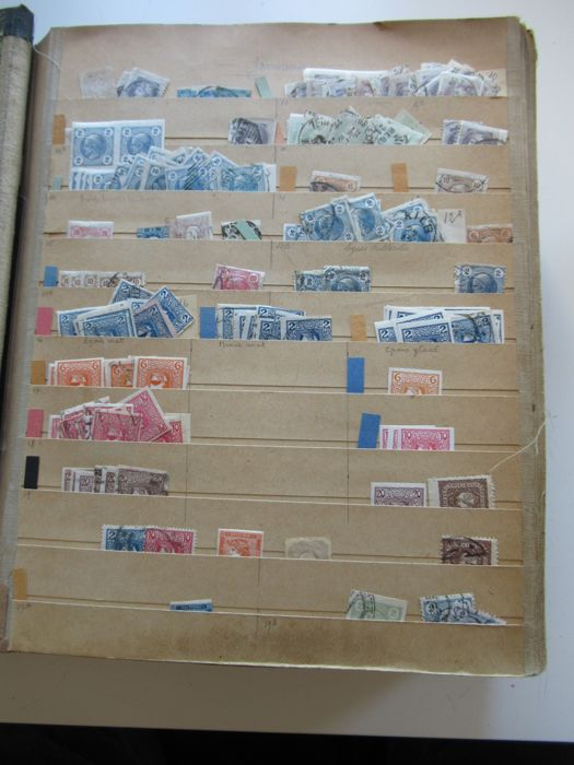 World 1850/1930 - Stock of stamps Volume 3