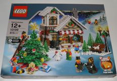 LEGO - holiday - 3x (quantity 3) of 10199 - Winter toy shop