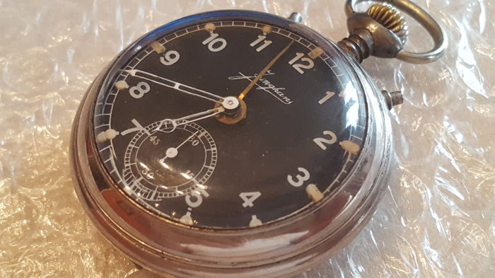 31bb09ce3 Junghans - alarm pocket watch - NO RESERVE PRICE - Men - 1901-1949 ...
