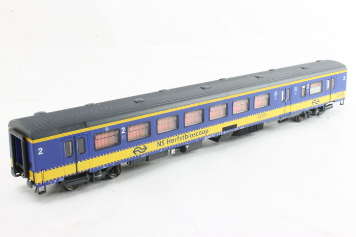 LS Models H0 - 44 059 - Passenger carriage  - ICR BKD - NS Autumn cinema - NS