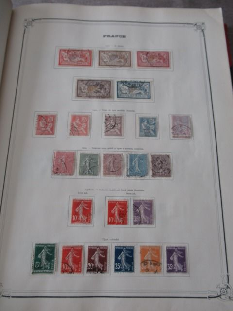 Europe including France - Stamp collection including part from France