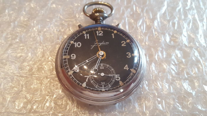 c0f728750 Junghans - alarm pocket watch - NO RESERVE PRICE - Men - 1901-1949