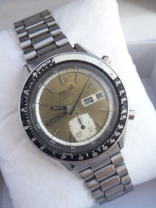 Seiko -  Chronograph - DHL shipping - 6139-6040 - Men - 1970-1979
