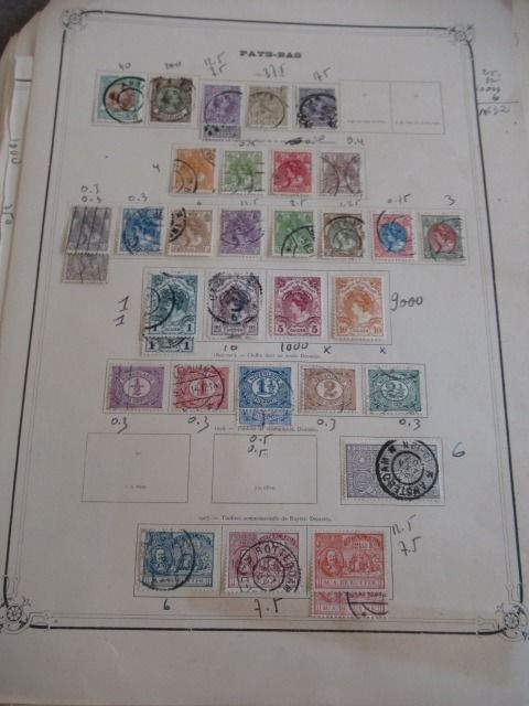 Europe of which Netherlands 1850/1950 - Stamp collection
