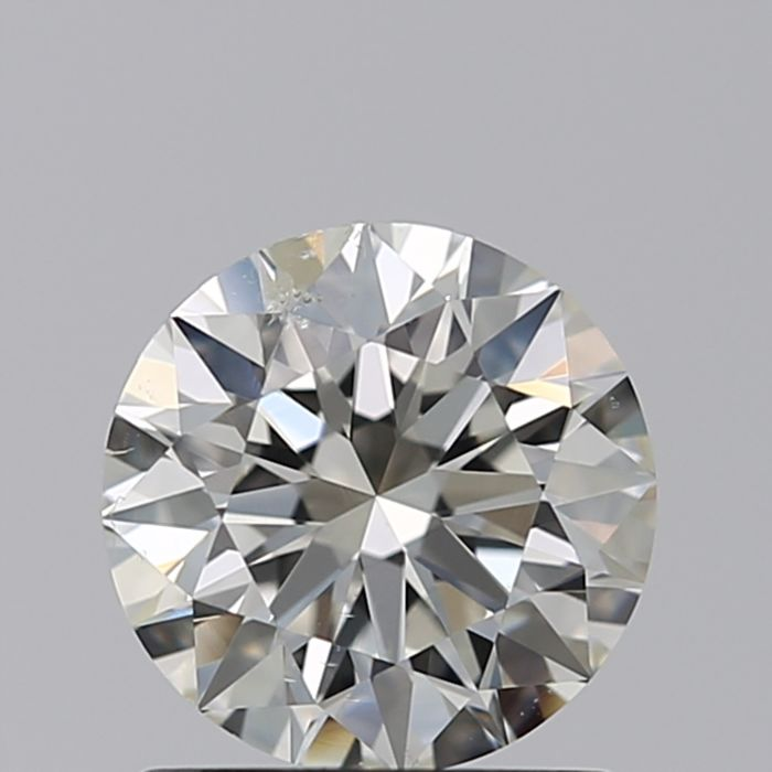 1 pcs Diamante - 0.40 ct - Brillante - F - SI1