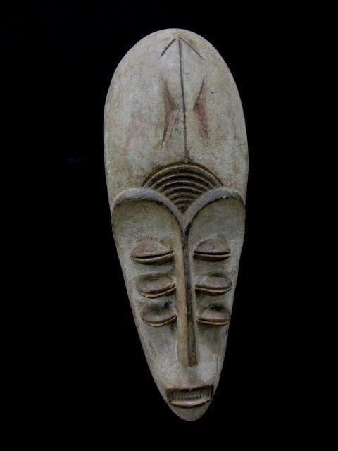 Mask with Multiple Faces - Fang Gnil - Gabon
