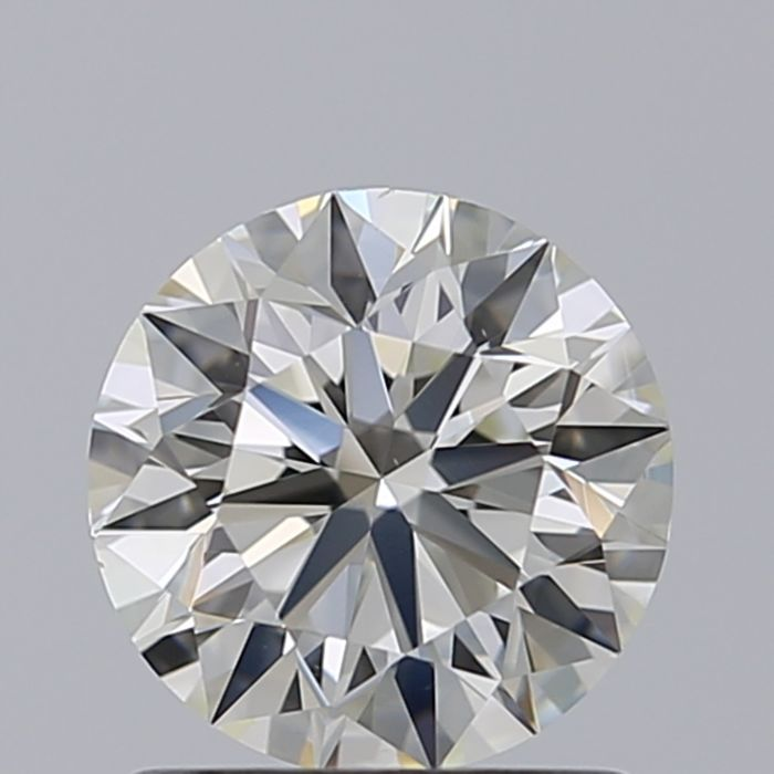 0.40 Round Brilliant K VS1 with GIA certificate - # 475-Stone looks White from The Face