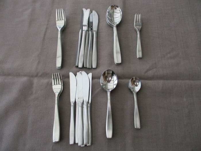 REPPEL - cutlery set - stainless steel 18/8 - restoration style