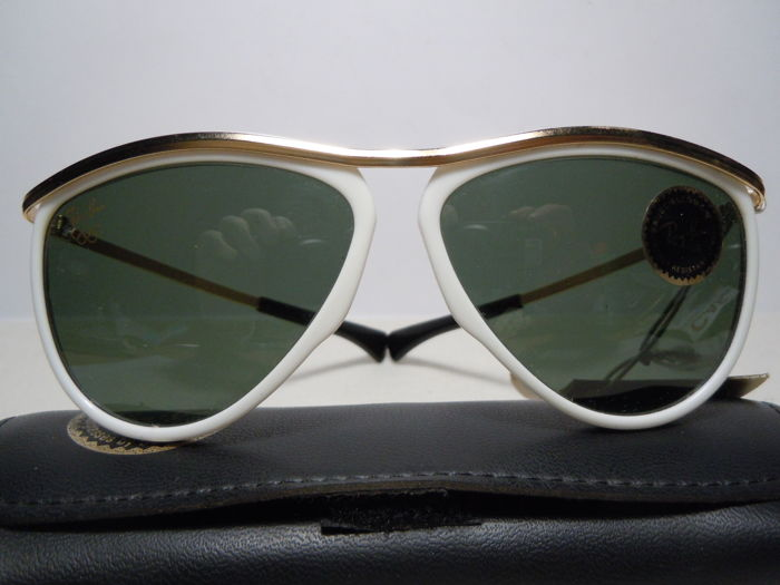 0a8c96d3522d6c RAY BAN Olympian III Aviator 5 1 4 By B L USA - New Old Stock with ...