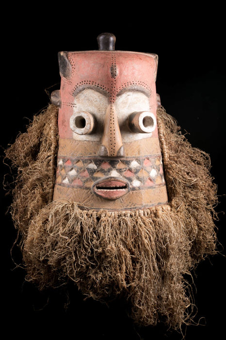 Ngaady A Waash Mask - Kuba - Congo