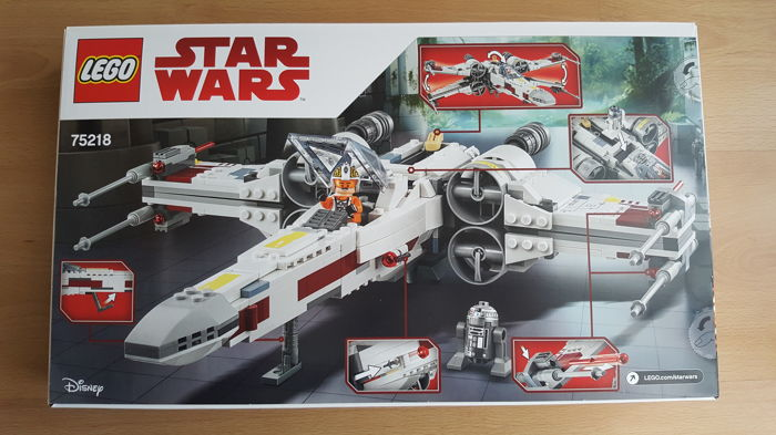 Lego Wars X Catawiki Starfighter Star Wing 75218 PX80NOwkn