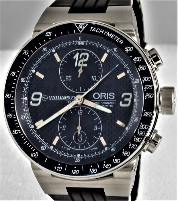 fe214929306 Oris - WILLIAMS-F1 TEAM CHRONOGRAPH - Ref. No 7563 - Limited Edition