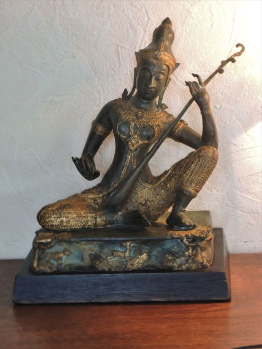 Bronze musician - Thailand - Late 20th century