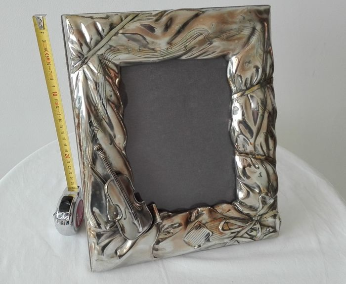 Frame - Silver laminated - Italy - NO RESERVE!