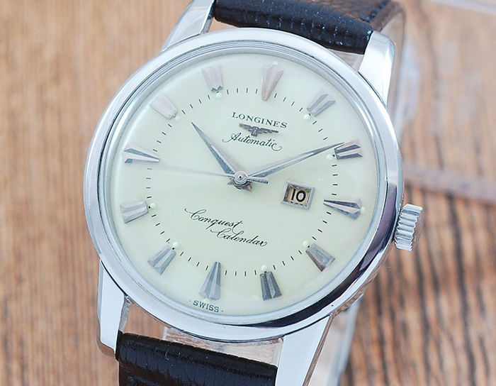 Longines - Conquest Calender Automatic - Heren - 1960-1969