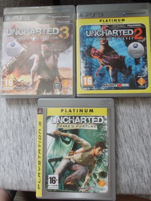 20 PS3 Games with manual like: Uncharted 1 +2+ 3, Gran