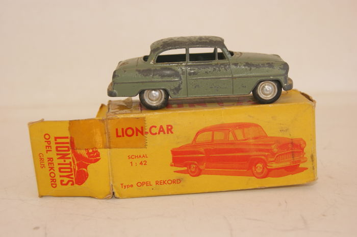 Lion Toys 1 42 Lion Car Opel Olympia Record In Original Box