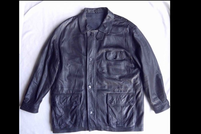 Yves Saint Laurent - Leather coat - Vintage