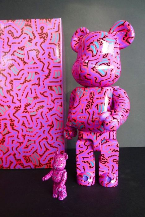 Keith Haring - Medicom 400% & 100% Articulated
