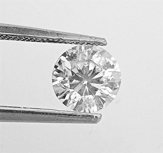 Diamant - 1.04 ct - Brillant - E - SI1