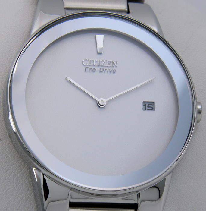 """Citizen - Eco Drive Silver Face """"Great Look"""" - New - Hombre - 2018"""