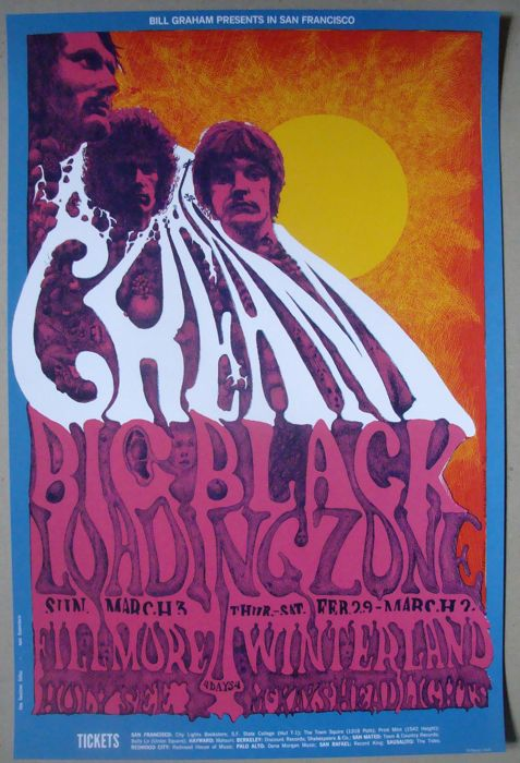 Cream at Winterland San Francisco 1968