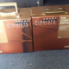 Lot Of 2 Boxsets : Great Pianists Of The 20Th Century The Complete Edition