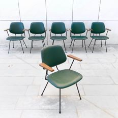 Wim Rietveld for Kembo - 6 dinner chairs