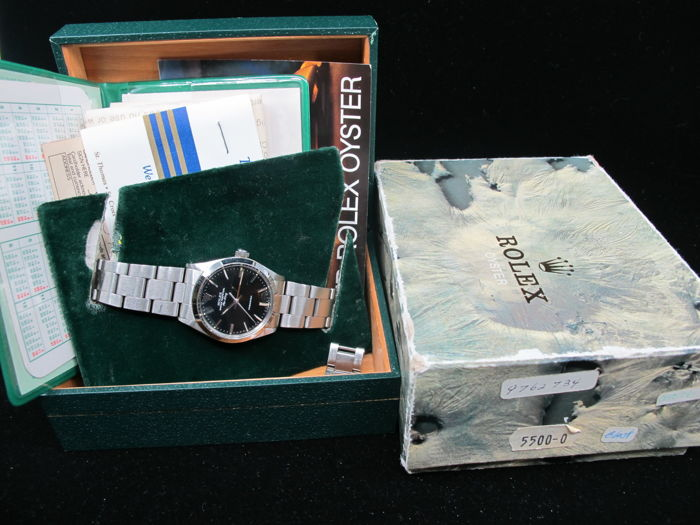 Rolex -  Oyster Perpetual Airking - 5500 - Unisex - 1980-1989