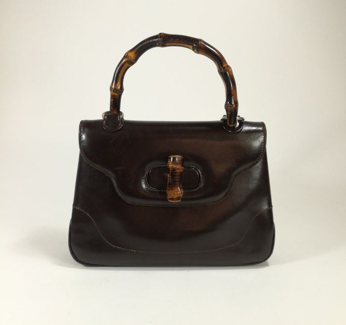 Gucci - Bamboo -Hand Bag-1962- - Catawiki 9df96b45ab6