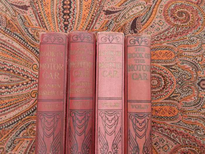 Libros - The book of the motorcar by Rankine Kennedy - 1913-1923 (4 objetos)