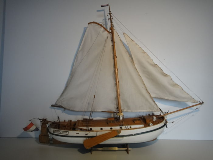 Lemsteraak - ship model - Wood - 1950-1999